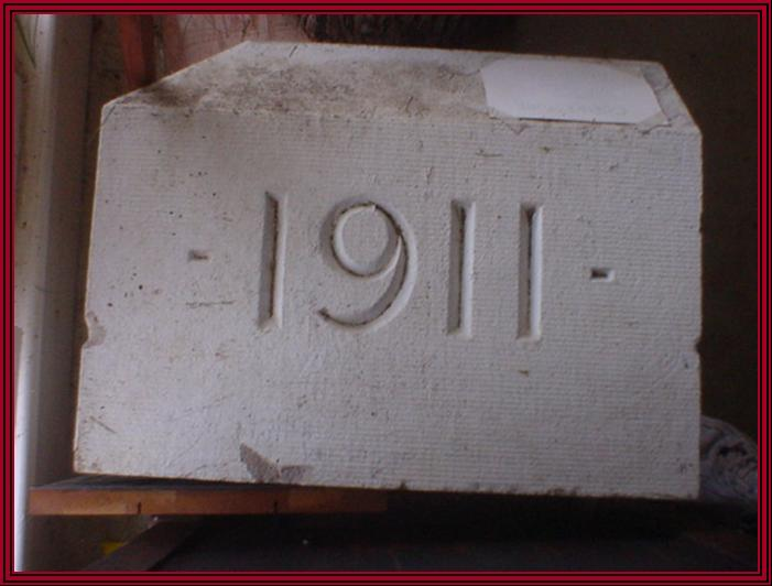 The Second, 1911, Jamesburg High School Cornerstone